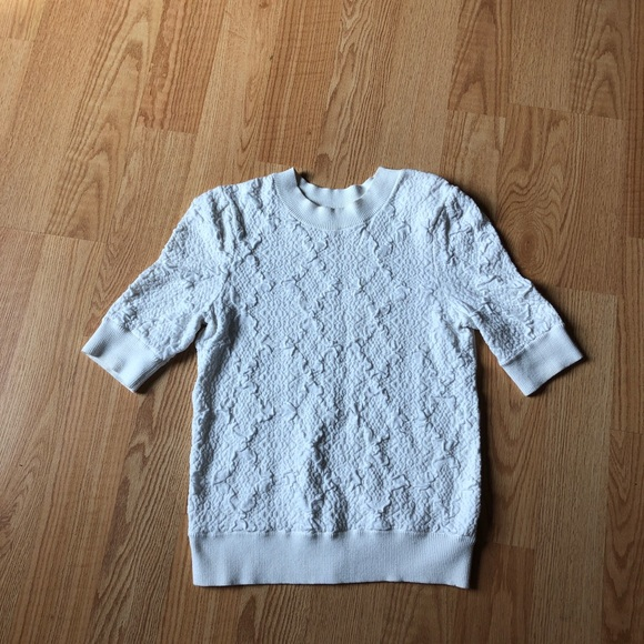 Free People Sweaters - Free people white sweater size:S cotton warm